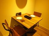 テーブル席2名×1席