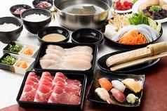 料理メニュー写真【極】豚・鶏コース