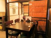 木のぬくもりが感じられる空間はスペースを贅沢に使用しており落ち着く雰囲気になっています。総席数62席を完備!ご宴会最大40名様までOK!お席詳細・人数・ご予算など、お気軽にお問い合わせください!※写真は一例です