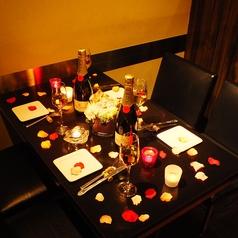 飾り付けも出来るゆったりテーブル席☆ママ会や交代勤務の方向けに昼宴会もOK♪