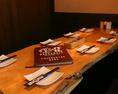 8名様までOKなテーブルです!仕切りもありますので、周りの視線を気にせずに、お楽しみいただけます。