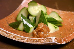 料理メニュー写真キャベツ/冷奴/枝豆/もろみ胡瓜/ポテトサラダ