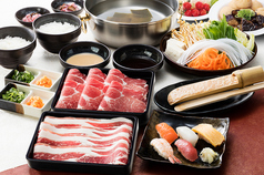 料理メニュー写真【極】牛・豚コース