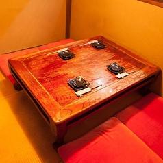 1Fお座敷個室4名様テーブル1卓ご用意致しています。※写真は、イメージです。