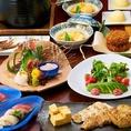 ◆新鮮な食材をこだわりの調理方法で丁寧にご提供