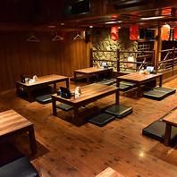 天神で貸切宴会やるならごちや!広々空間で楽しめます。