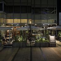 東京ミッドタウン1F。各種貸切パーティーも可能!