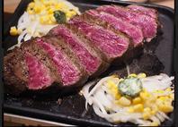 国産牛!塊肉のステーキ