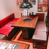 2~5名様用テーブル席