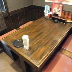 テーブル席は全4卓◎