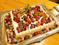 バースデーケーキの一例です。