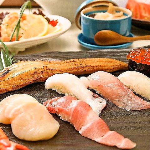 本当に旨い寿司をデザイナーズ空間でリーズナブルに堪能。千歳の【鮨KOH庵】