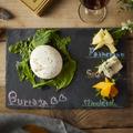 料理メニュー写真ブラータチーズと3種盛り合わせ