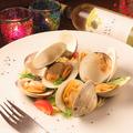 料理メニュー写真ホンビノス貝のボンゴレ