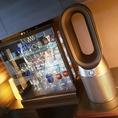 【衛生対策店舗】スタイリッシュな空気洗浄機導入しました。
