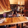 雰囲気◎なテーブル席が多数