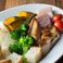 料理メニュー写真チーズフォンデュ 野菜+MEATセット