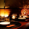 人気の個室♪個室は2名様~完備致しております。ご宴会、接待、デートなど様々な用途に合わせた個室をご準備致しております。