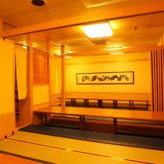 座敷席は12名様、10名様用も有り※画像は系列店です。