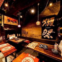 九州名物をたっぷりと味わえる当店でご宴会を!お仕事仲間やご友人との飲み会など、少人数でのご利用にぴったりな席です。ごゆっくりお過ごしください。