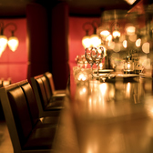 デートにオススメ♪雰囲気の良いカウンター席は2名様でご利用可能です◎※写真はイメージです。※ご予約の状況によっては、写真のような席でのご案内ができない場合がございますので、予めご了承下さい。