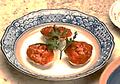 料理メニュー写真柾風コースの一品 「はまぐりトマトソース」