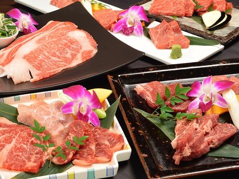 満炎★みかわ牛ゴールドや松阪牛など上質な肉がお得に食べられるコースを取り揃えた店
