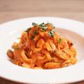 料理メニュー写真貝のラグーパスタ