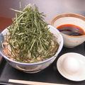 料理メニュー写真肉そば(冷つけ)