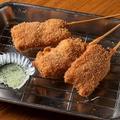 料理メニュー写真神戸牛の串カツ