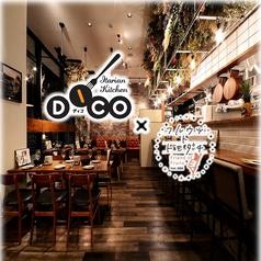 イタリアンキッチン DICO ディコ & 田中果実店 フルウツ ト トモダチ 東岡崎店