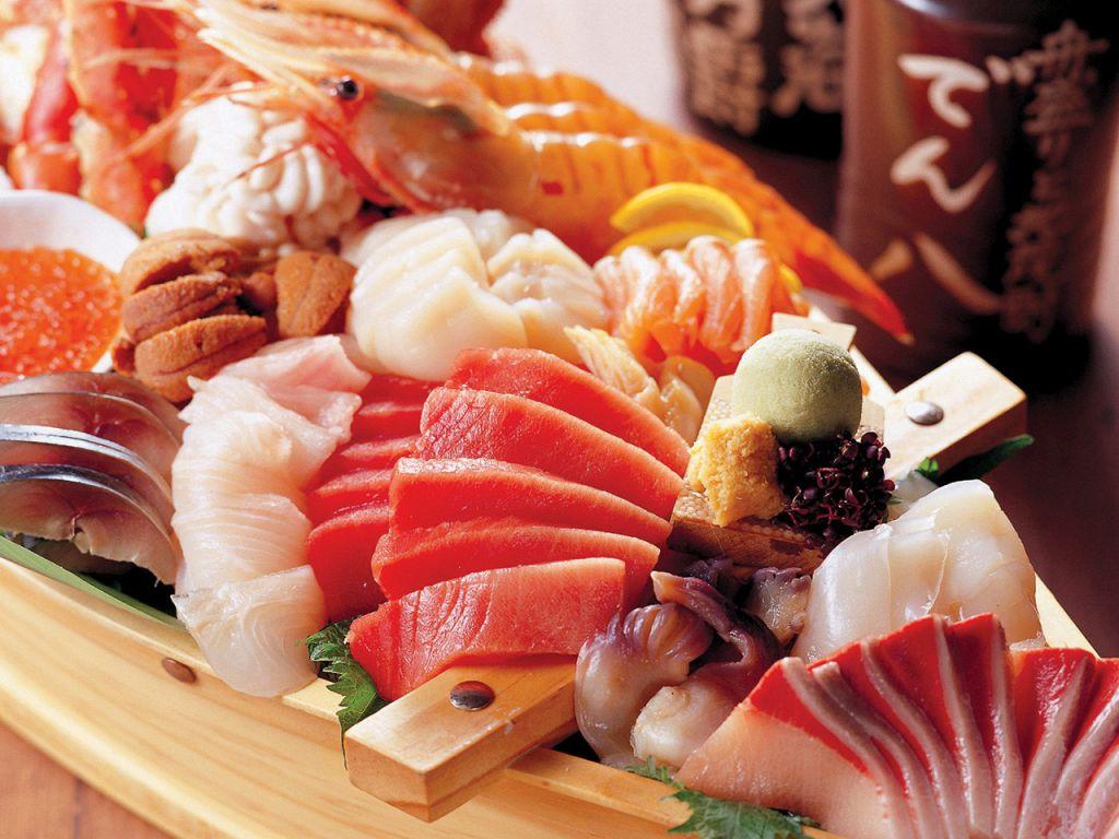 これでもか!と盛り込まれた北の海の新鮮な魚たち。圧巻です!