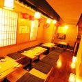 くつろぎ個室と京都の癒し 東 あずま 新宿店の雰囲気1