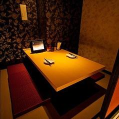 【完全個室】2名席はカップルデートに♪