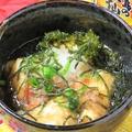 料理メニュー写真ジーマミー豆腐とあーさーの揚げだし