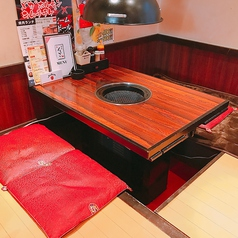2~4名様用座敷テーブル席