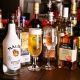 リーズナブルなドリンクは500円~♪ビール・グラスワイン・カクテル・日本酒・ウイスキーなど、種類豊富なドリンク類がALL500円~!お値段がわかりやすいので、飲みたいものをお手軽に試して頂けます♪