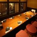 小人数の宴会や飲み会に!落ち着いた空間、古民家をイメージした完全個室。他のお客様を気にせず愉しめます