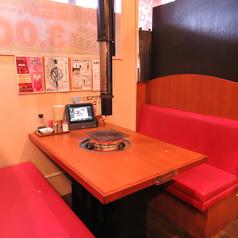 【4名様掛けボックステーブル席】