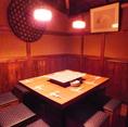 7~11名様まで対応の個室空間☆