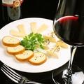 料理メニュー写真3種のチーズ盛り合わせ