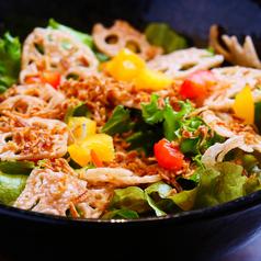 10種のオーガニック和風サラダ