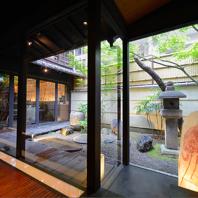 日本庭園のある趣きある落ち着いた雰囲気が◎