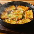 料理メニュー写真鉄板焼き豆腐 四切/八切