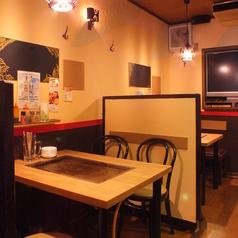 ■1階テーブル席■4名様テーブル☆