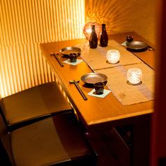 【扉付き完全個室】2~4名様のデート向き個室!自慢の嬉しい個室プライベート空間!個室でゆったりとお寛ぎください。飲み放題付きコース3500円~★和の雰囲気を感じることぶき屋個室で季節の美食をお楽しみください。