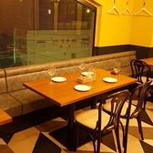 【4名様のテーブル席】地上4階で食べる最強コスパイタリアン!女子会、合コンから会社宴会まであらゆるシーンに利用可能☆