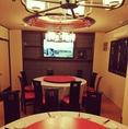 【野球観戦OK!】2階個室円卓テーブル席にもTVを設置!野球観戦も可能となっております13000円のオーダーバイキングコースもご用意しておりますので、宴会に最適◎