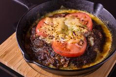 スキレットチーズトマト