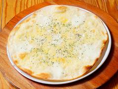 料理メニュー写真4種類のチーズピザ